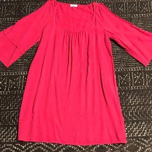 Glam Cold Shoulder Dress